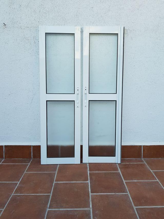 HOJAS OPACAS VENTANA DE ALUMINIO 34 × 1'16