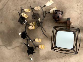 lámparas de hogar como nuevas