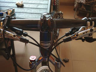 Bicicleta montaña full XT full carbono