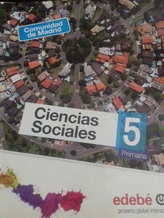 Libro de texto 5° Primaria C. Sociales Edebe