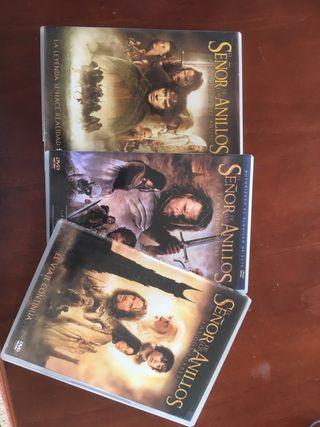 Colecccion Señor de los Anillos DVD