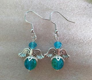 Handmade pierced earrings