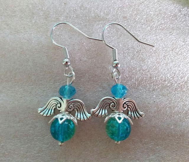 Handmade pierced earrings