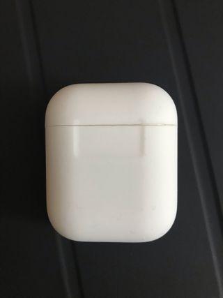 Funda silicona blanca AirPods de Apple