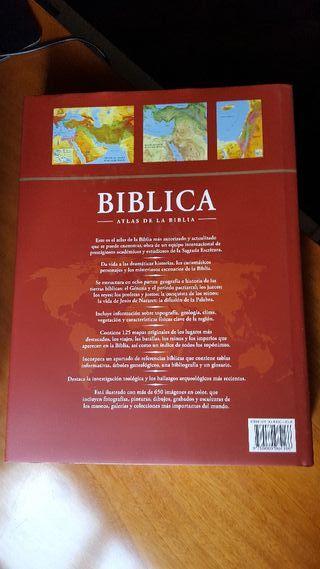 Biblica. El atlas de la Biblia.