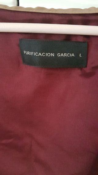 gabardina Purificación García