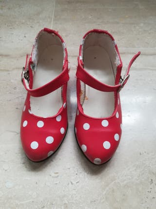 Mano Provincia Castellón La Zapatos Segunda En Flamenco De 4jL5AR