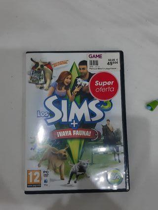 videojuego Pc los sims+vaya fauna