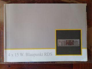 manual radio cassette renault Clio 16v Williams