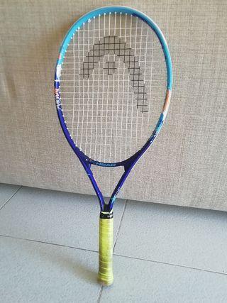raqueta de tennis niños