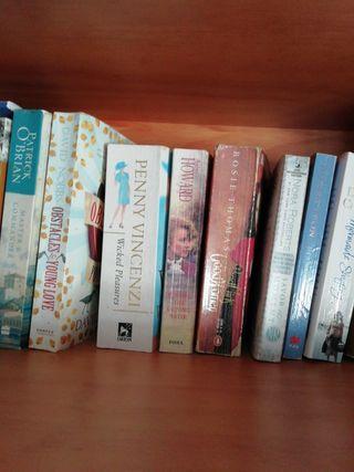 Libros en inglés a 3€/unidad