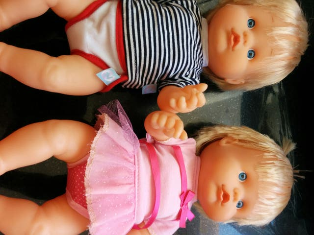 Muñecos Nenuco interactivos van al baño