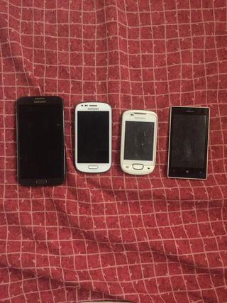 Lote 3 móviles
