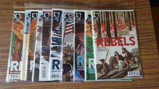 Comic Rebels 1-10