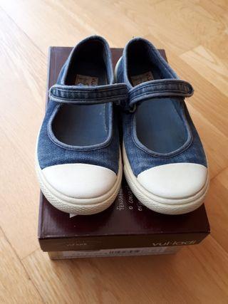 Zapatillas tejanas niña Vul.ladi. Número 28