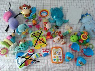 Lote juguetes 0-4 años