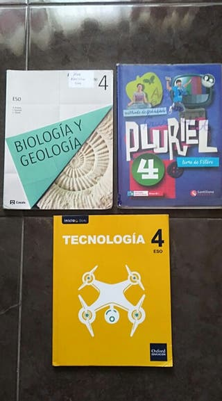 Libros de Educación Secundaria Obligatoria