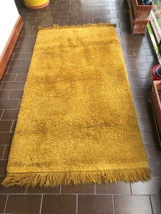 Magnífica alfombra de lana