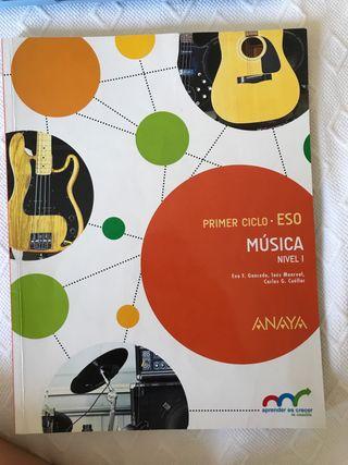 Libro música Anaya