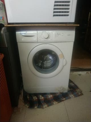 congelador vertical y lavadora