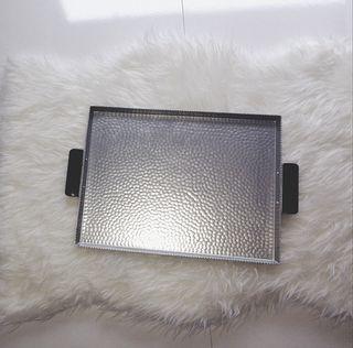bandeja grande de aluminio