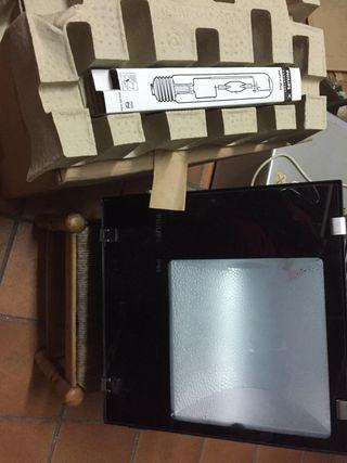 dos proyectores philips 400w. halogenuros metalico