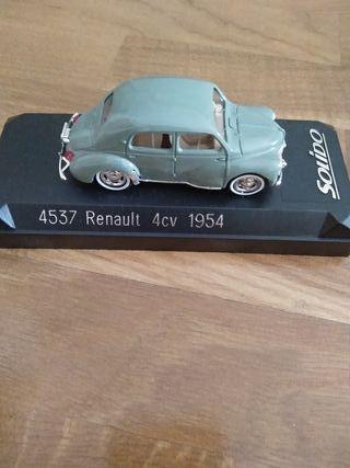 Maqueta Renault 4 cv 1954