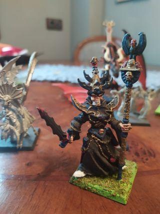 figuras antiguas de warhammer battle fantasy