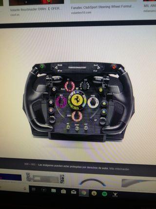 394526647d8 Vento volante Thrustmaster T300 con aro f1 y pedal