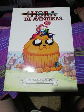 HORA DE AVENTURAS Art book Las mejores cubiertas