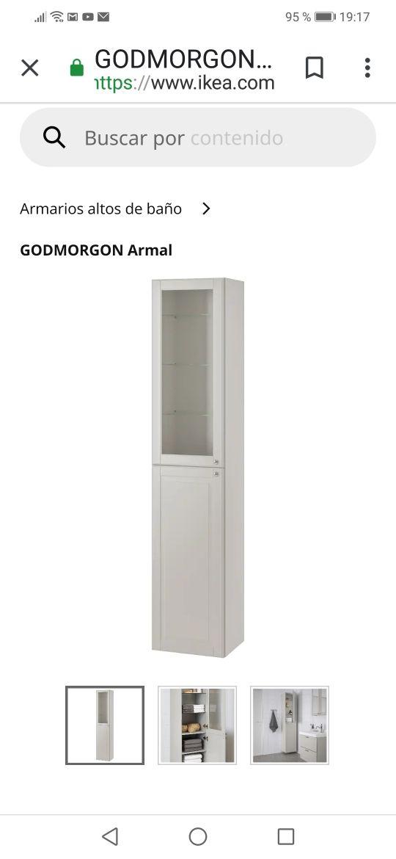 detalles para 100% de satisfacción los más valorados Mueble de pared de lavabo Ikea de segunda mano por 90 € en ...