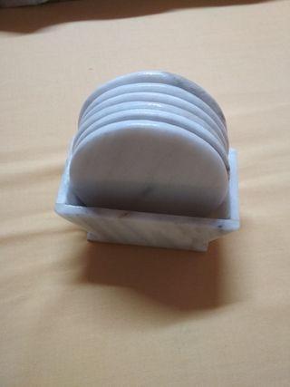 portavasos de marmol