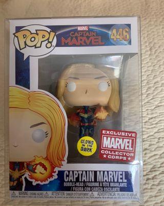 Funko Pop Captain Marvel Collector Corps Exclusive