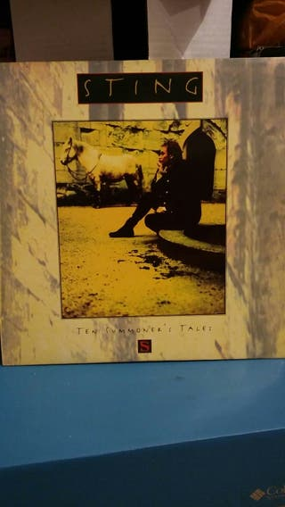 Vinilo Ten Summoner's tales, de Sting