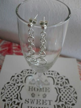 Pendientes Chainmaille