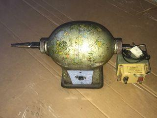 Motor de pulir 125 v con transformador