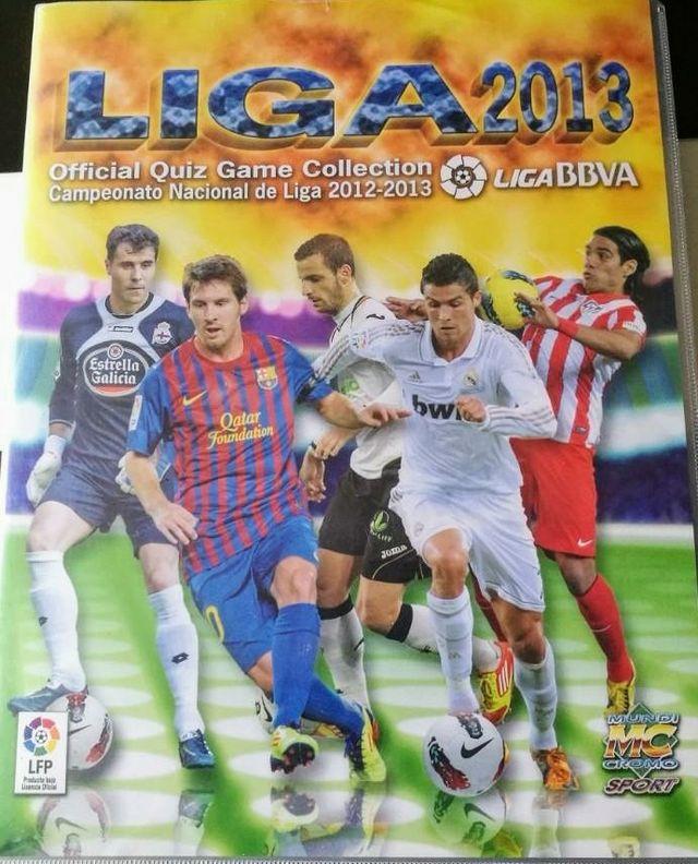 Cromos Liga 2013. Mundi Cromo MC Sport
