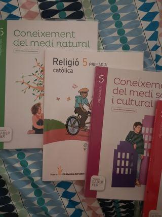 Libros 5 La Salle Tarragona