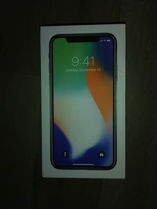 Caja iPhone X Plata 64GB