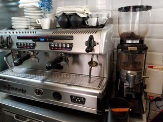 Cafetera La Spaziale S5 y molinillo anfim