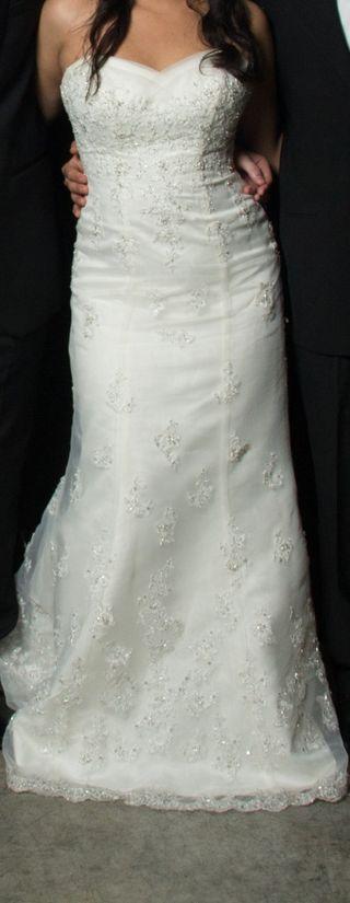 Vestido de novia David's Bridal