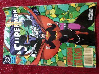 Comic Superman antiguo