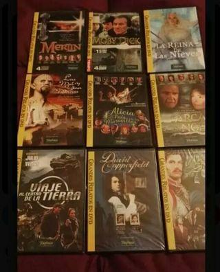 Colección grandes relatos en DVD