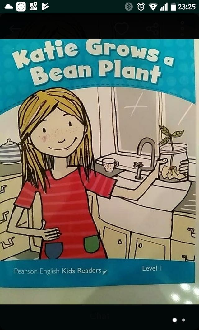 katie grows a bean plant