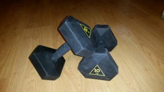 Mancuernas / Pesas - Hexagonal Dumbbell