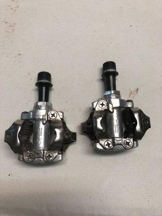 Pedales Calas Automáticos Shimano
