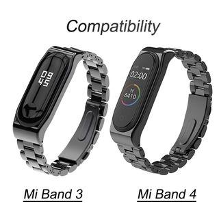 Mi Band 3 Correa de Metal y Xiaomi Mi Band 4 Corre