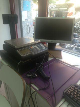 caja registradora con programa TPV
