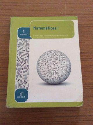 Libro de matematicas primero de bachillerato