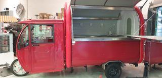 Food truck motocicleta